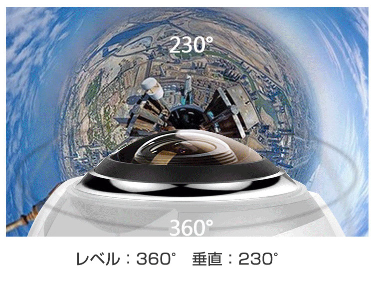 360度 ドーム型カメラ