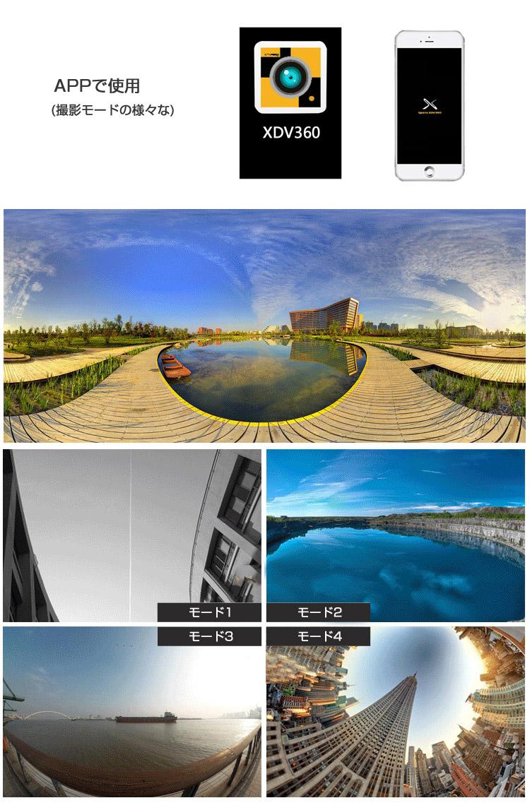 360度 防水カメラ