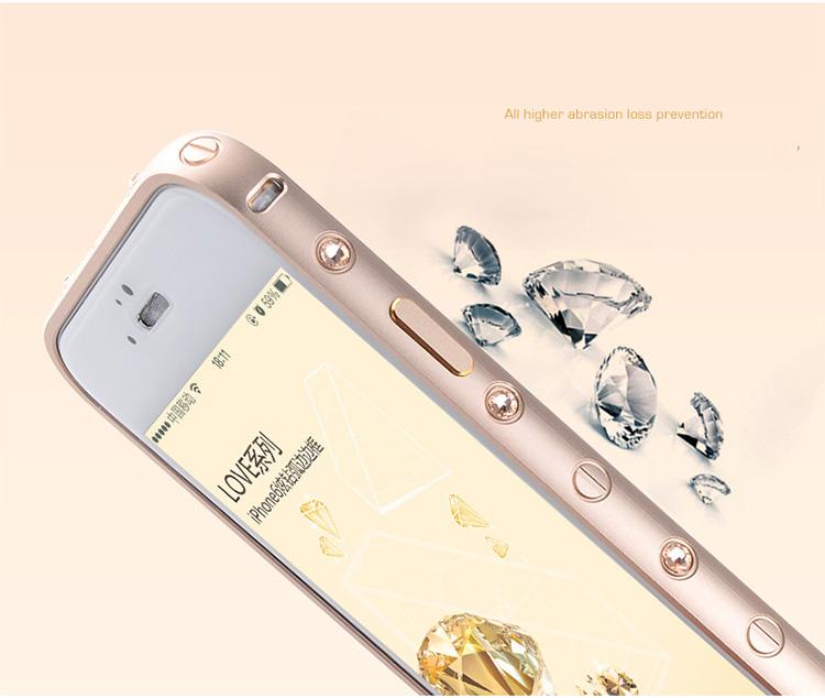 iPhone 6専用 メタルフレーム