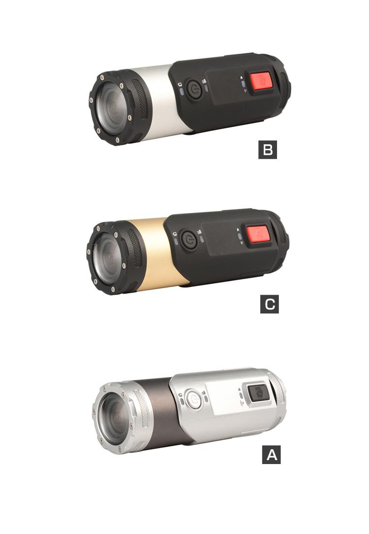 スポーツカメラ Gセンサー