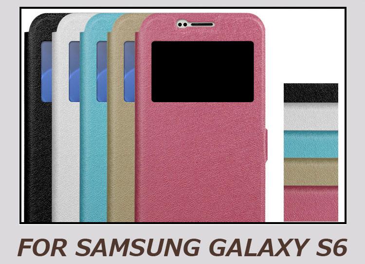 galaxy S6 ケース 手帳