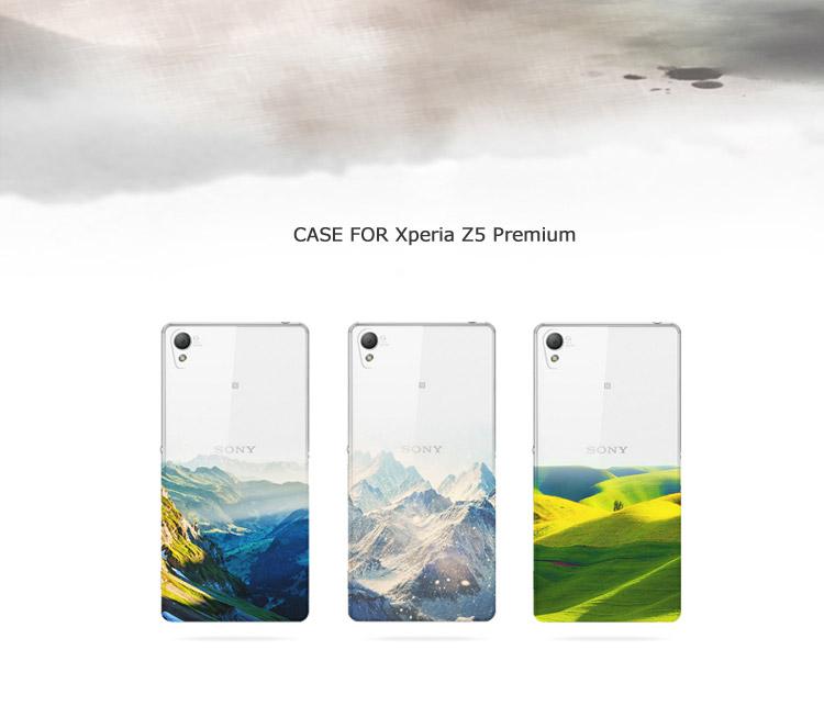 Xperia Z5 Premium 背面カバー