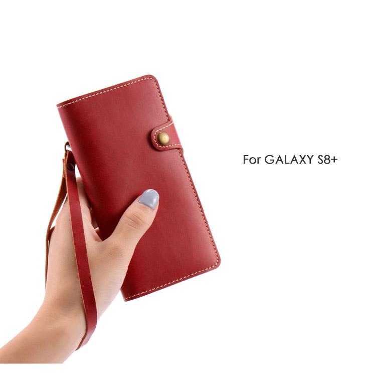 galaxy S8+ レザーケース